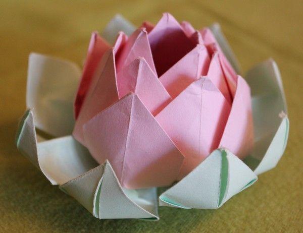Fleur de lotus - Origami fleur de lotus ...